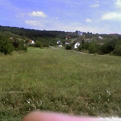 Cserszegtomaj: Großes Baugrundstück mit Panorama auf Hévíz