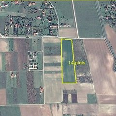 Cserszegtomaj: Building plots in nice location with Balaton panorama view