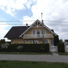 Lenti: Maintained duplex house behind the thermal spa